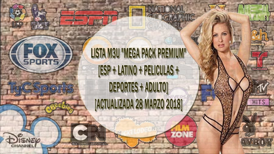 CANALES DE TV PREMIUM [ESP + LATINO + PELICULAS + DEPORTES + ADULTO]
