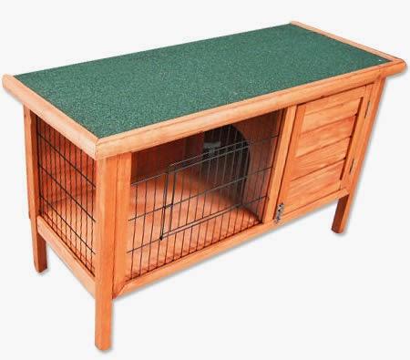 Idea para construir una casa para hamsters con madera reciclada