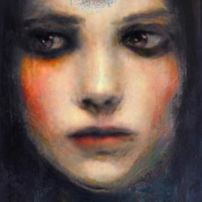 Женские лица. Suhair Sibai 17