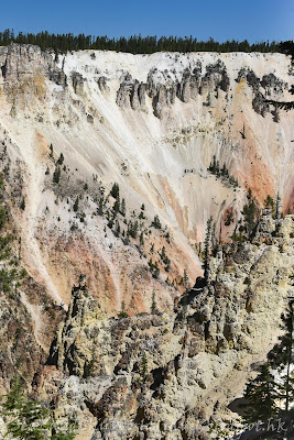 黃石國家公園, yellowstone national park,Canyon Village,  Artist Point, lower Falls