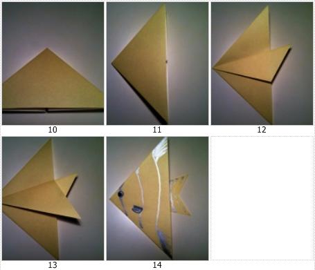 Tutorial Membuat Origami Binatang Ikan Kucing Dari Kertas
