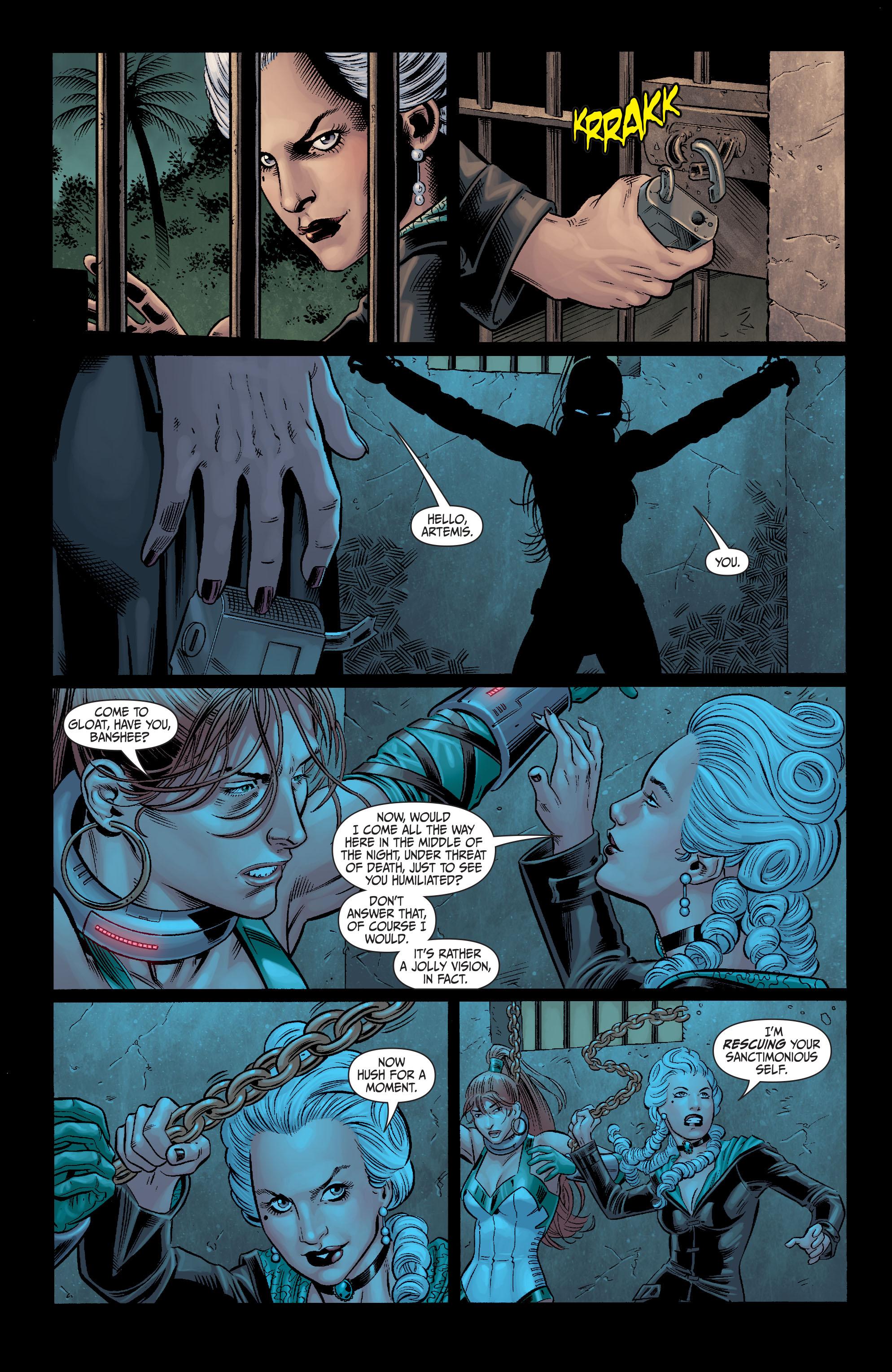 Read online Secret Six (2008) comic -  Issue #11 - 17