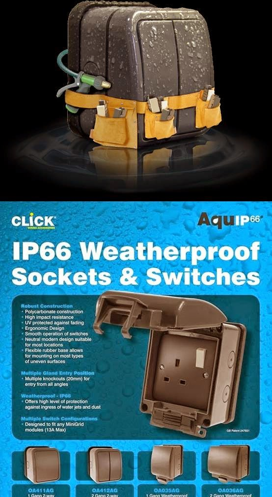 Construction Materials  Weatherproof Sockets And Switches