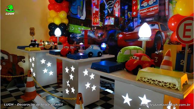 Ornamentação infantil Carros Disney provençal