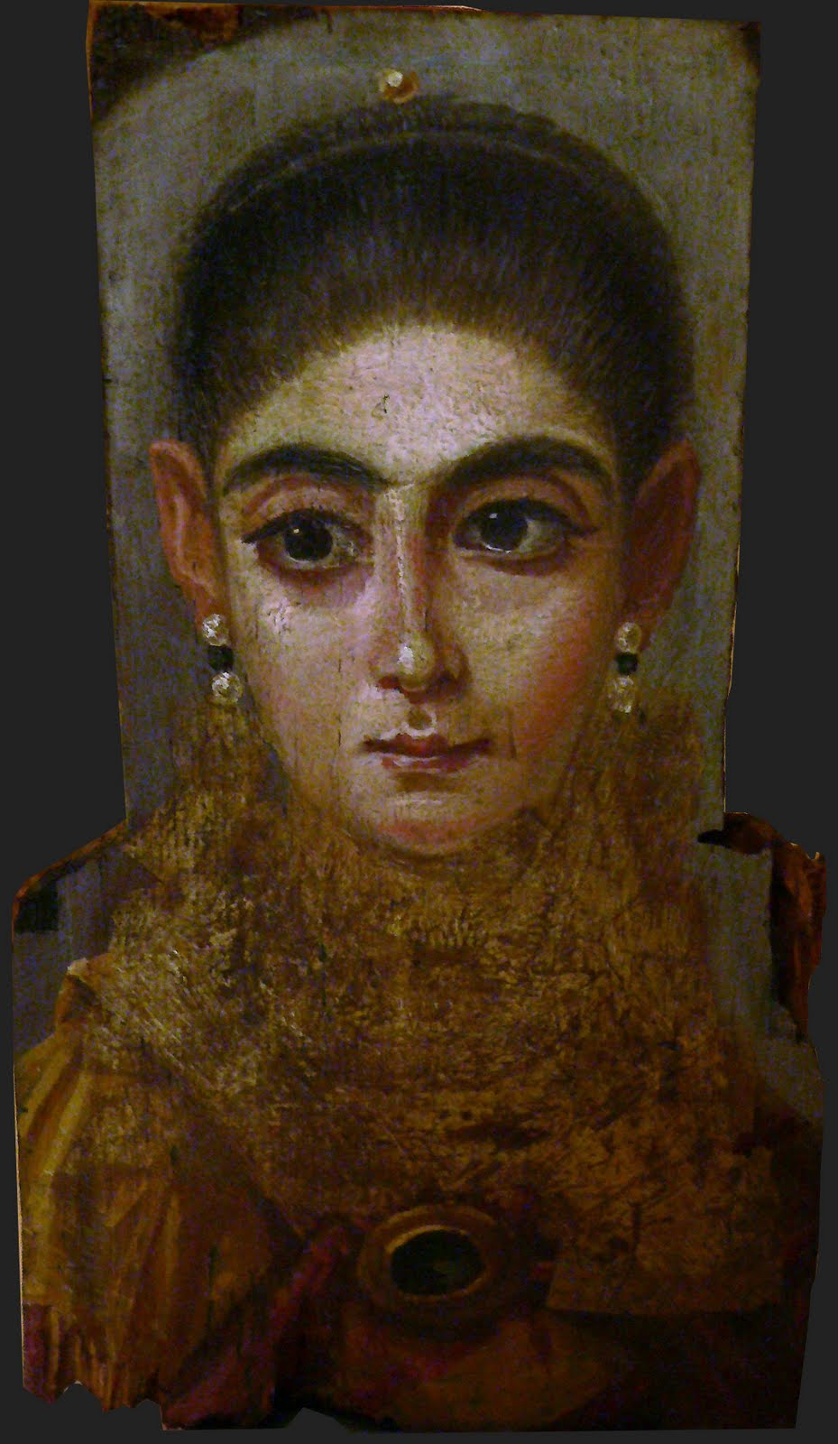 One Objectivist's Art Object of the Day: Seven Fayum Mummy ...