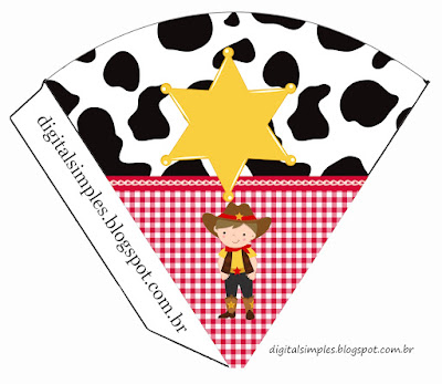 Little Cowboy: Free Printable Invitations.