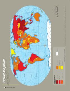 Apoyo Primaria Atlas de Geografía del Mundo 5to. Grado Capítulo 3 Lección 1 Distribución de la Población