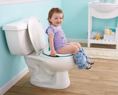 أساسيات تدريب الطفل علي الحمام