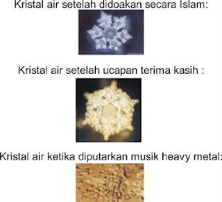 Sarazaqea: Molekul Air Zam-Zam VS Molekul Air Heavy Metal.. (Ada gambar)
