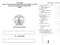 Aplikasi Raport Kurikulum 2013 Format Terbaru Sesuai Juknis