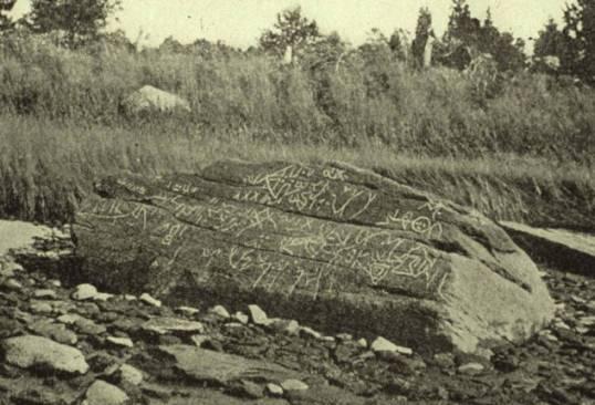 Misteri The Dighton Rock - sungai Taunton