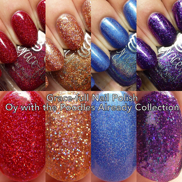 Grace-full Nail Polish Oy with the Poodles Already Collection