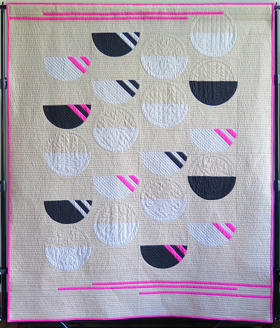 Inspiration blog post series - Retro rollers quilt made by Heather Black - Quilt-achusetts