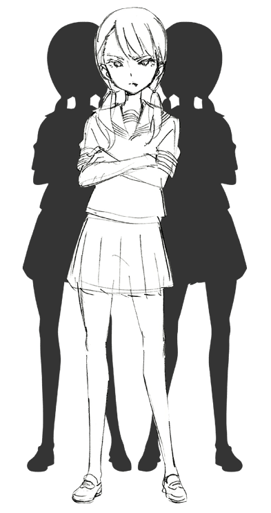 Yu Serizawa como Nijimi Anazawa