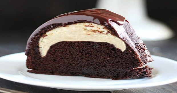 Cheesecake Filled Chocolate Bundt Cake Recipe