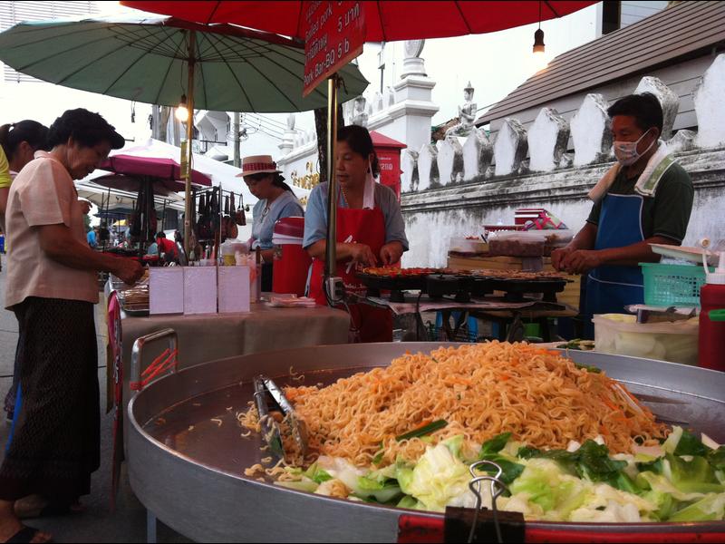 Comida callejera Tailandia