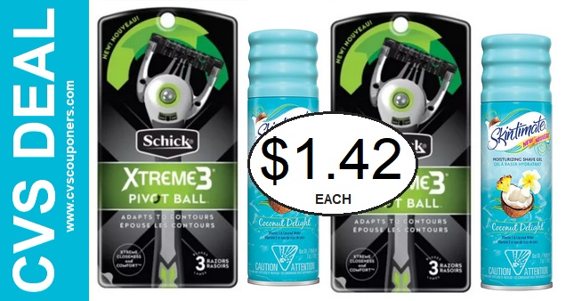 Schick-Skintimate-CVS-Deal-Only-1-42-5-5-5-11