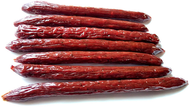 wild game meat sticks