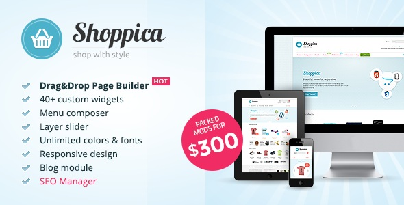 Shoppica Premium OpenCart Download