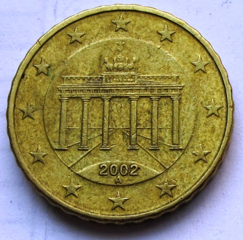 Still Finding A Steady Stream Of German Euro Coins Although I Have Seen More Brazilian Tourists Than Ones The Germans Are Likely To Use Their