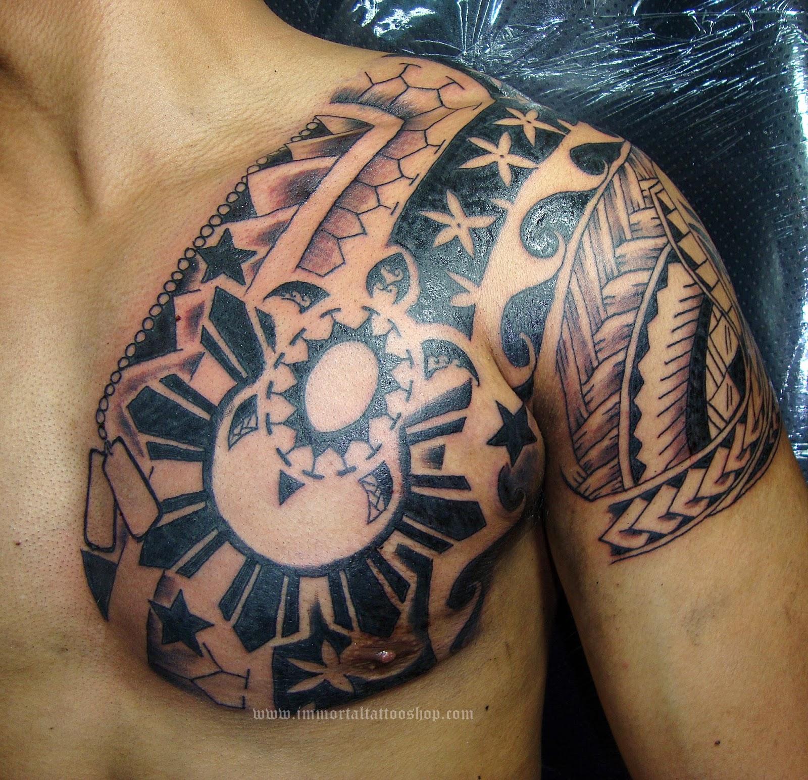 Tribal Tattoos: IMMORTAL TATTOO MANILA PHILIPPINES By Frank Ibanez Jr