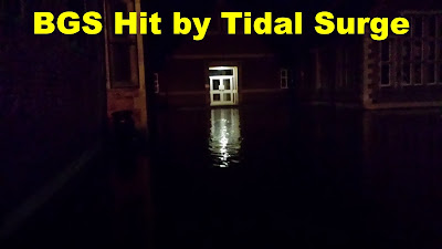 BGS Hit by Tidal Surge
