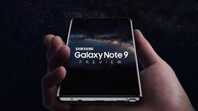 اليوم تقوم سامسونج بالكشف رسميًا عن هاتفها الجديد نوت ٩