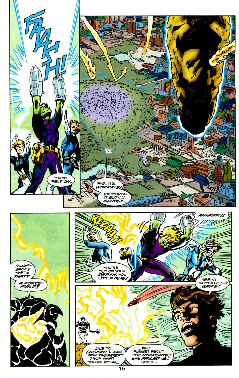 Legion of Super-Heroes (1989) 118 Page 16