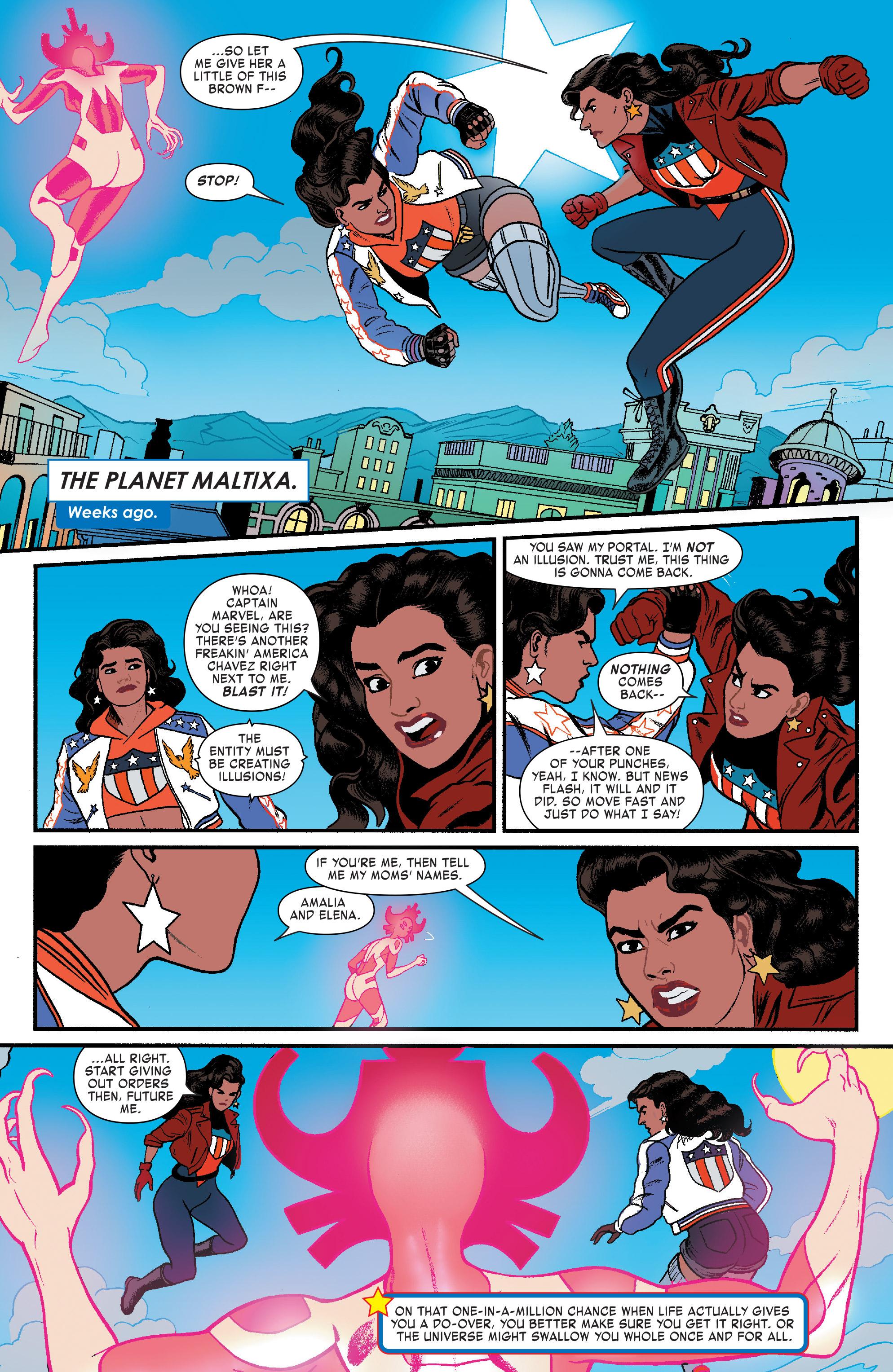 Read online America (2017) comic -  Issue #4 - 10