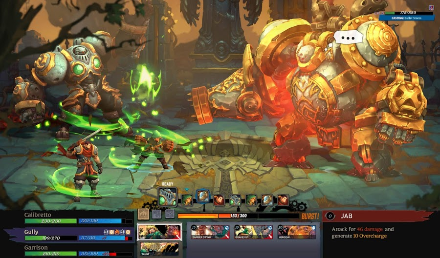 battle chasers nightwar game