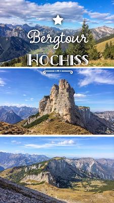 Rundwanderung auf den Hochiss 2.299m | Wandern Rofan | Maurach am Achensee | Tourentipp + GPS-Track | Wanderung Erfurter Hütte | Wanderblog