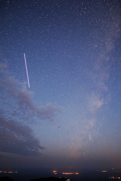 Universe International Space Station And Milky In Twilight