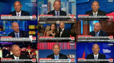 One A Day: CNN Hosts Porn Star's Lawyer Michael Avenatti 59 Times in Less Than Two Months
