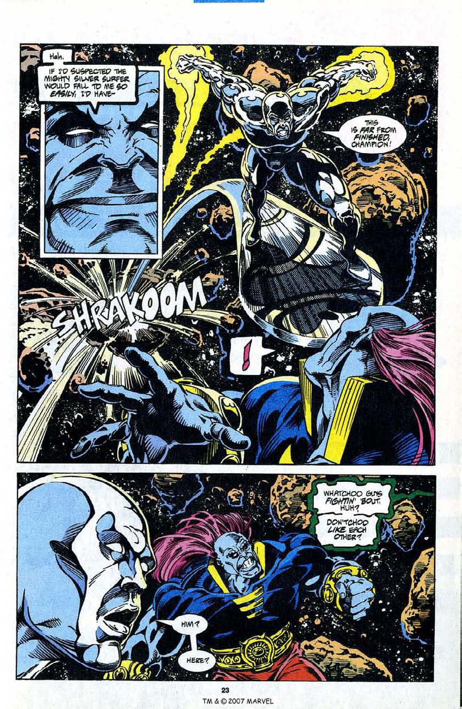 Read online Silver Surfer (1987) comic -  Issue #98 - 25