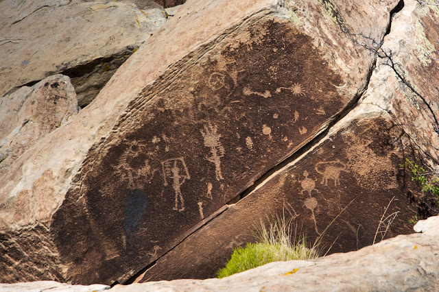 Puerco Pueblo Petroglyphs, Petrified Forest National Park