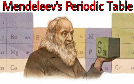 Mendeleev's Periodic table and it's defects