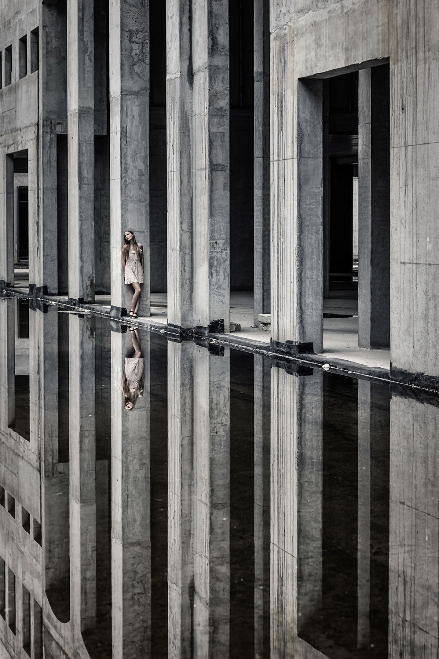 На краю мира I, фотограф Петер Целей