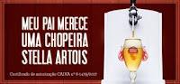 Promoção Abbraccio Chopeira Stela Artois Dia dos Pais