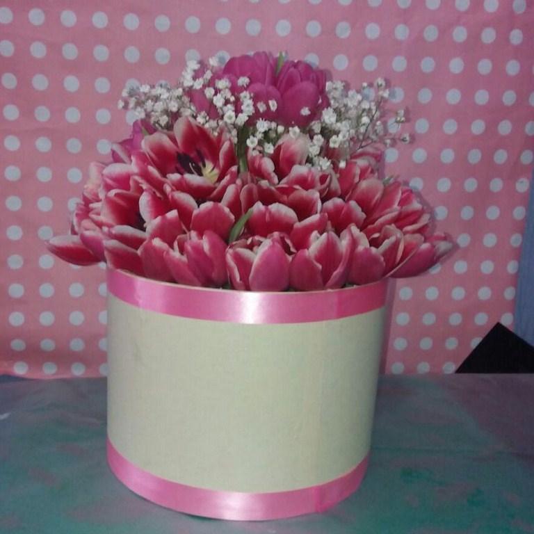 Karangan Bunga Box 006