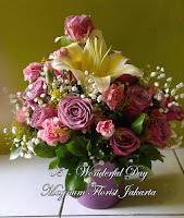 Mawar Bunga Ungu Jakarta