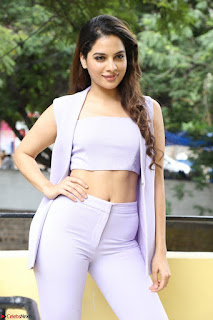 Tanya Hope in Crop top and Trousers Beautiful Pics at her Interview 13 7 2017 ~  Exclusive Celebrities Galleries 054.JPG