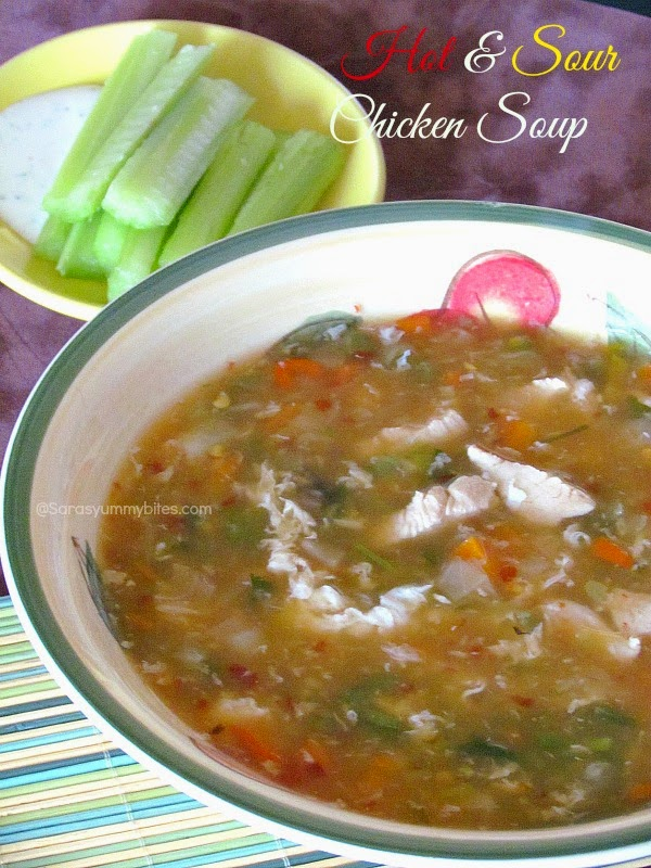 Hot & Sour Chicken Soup
