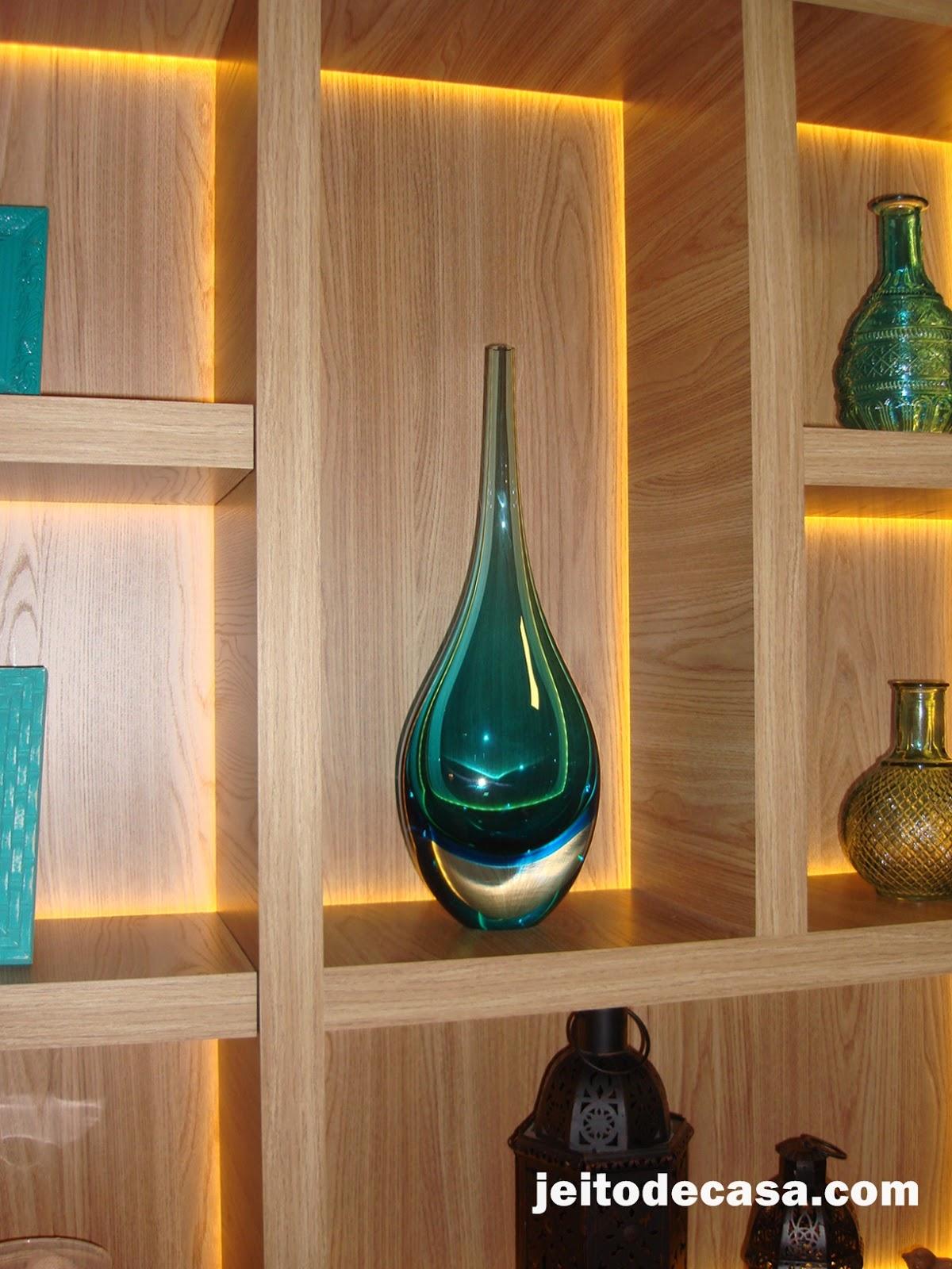Objetos de decora o para salas e estantes jeito de - Objetos decorativos para salon ...