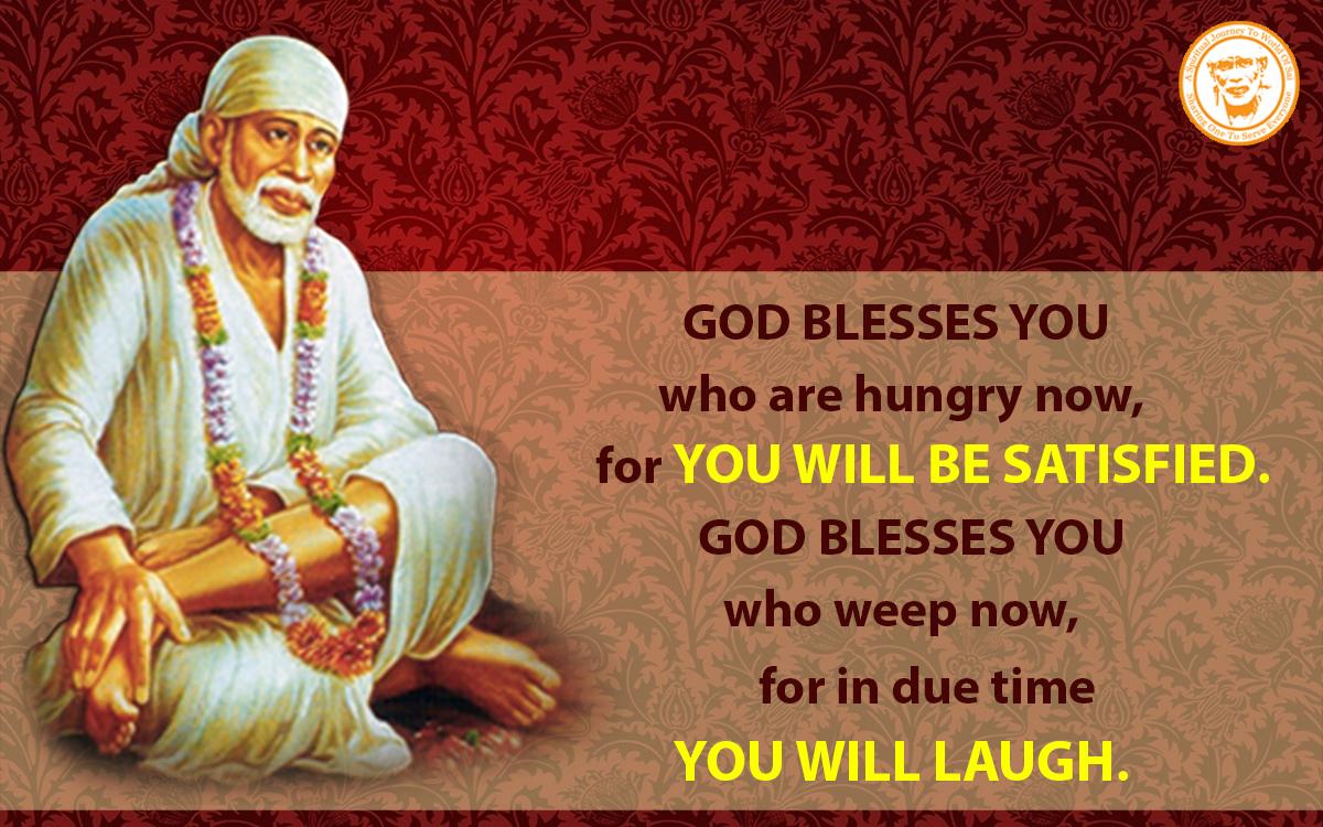 Quotes Hindi Wallpaper Download Shirdi Sai Speaks Teachings For August Shirdi Sai Baba
