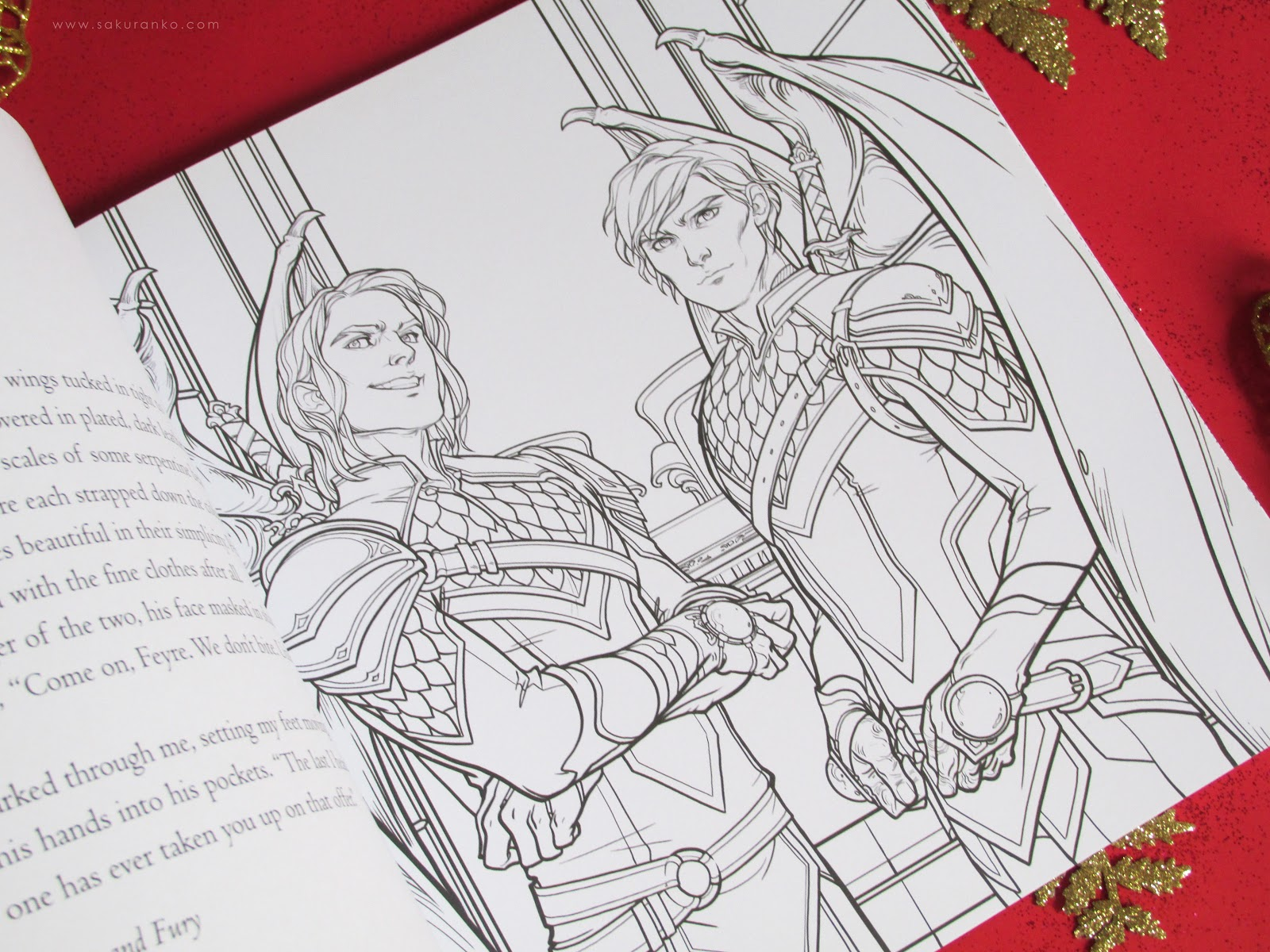 Sakuranko A Court Of Thorns And Roses Coloring Book By Sarah J Maas
