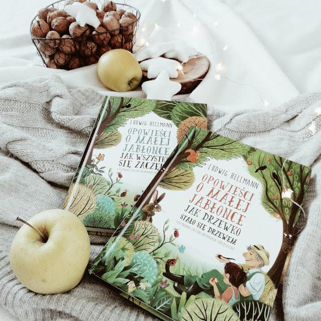 """191. Seria """"Opowieści o małej jabłonce"""" Ludwig Hellmann"""