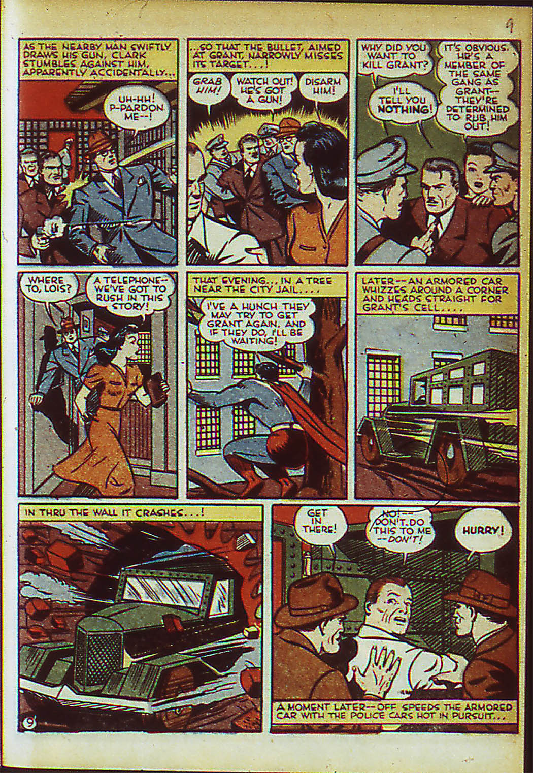 Read online Action Comics (1938) comic -  Issue #41 - 12