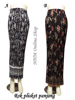 model rok batik panjang