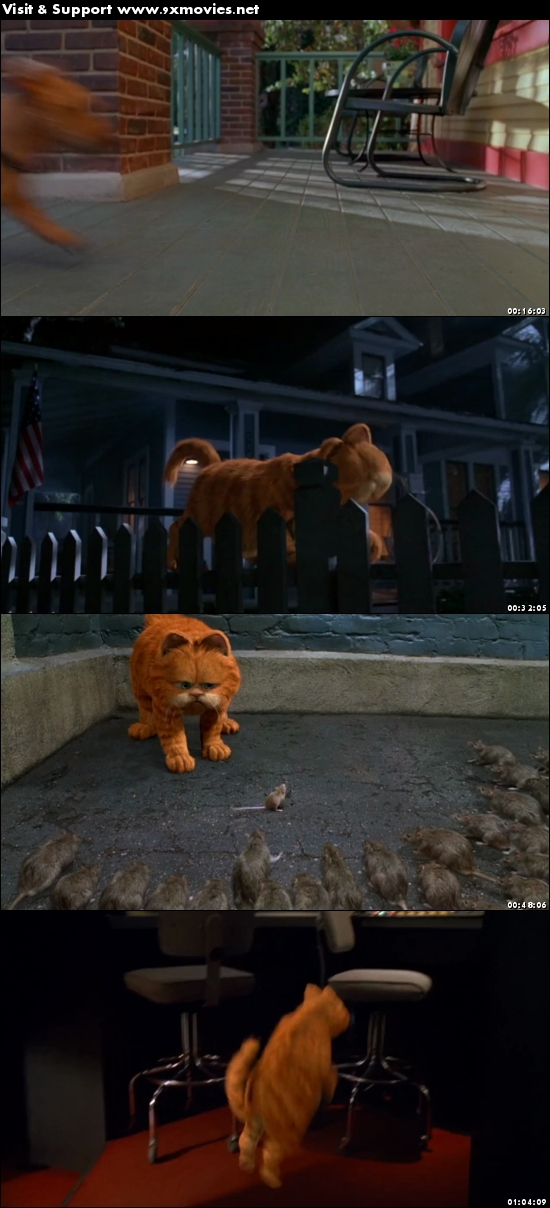 Garfield 2004 Dual Audio Hindi 720p BluRay