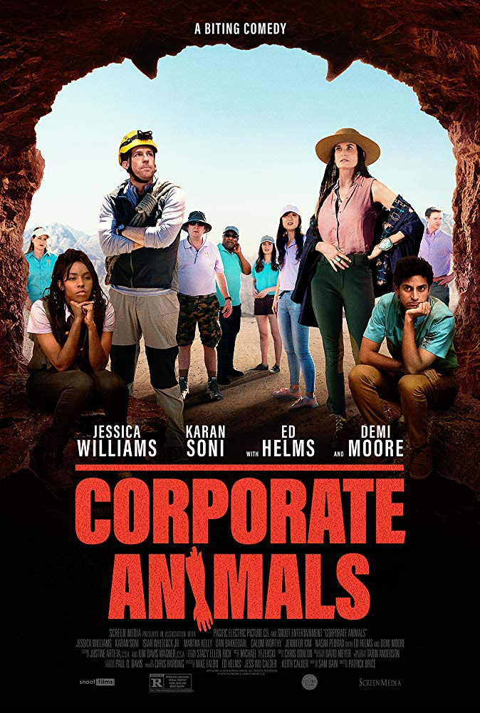 "Win an iTunes Download code for ""Corporate Animals"""
